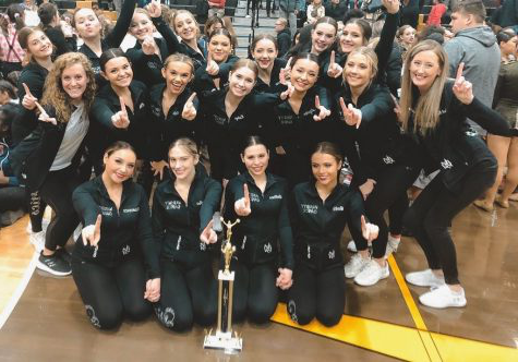 Dance Wins 1st Place at Andrew